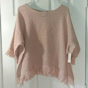 NWT Anthropologie open knit top size XS